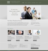 灰色扁平化律师行业企业