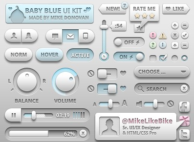 超金属质感3D网页PSD按钮