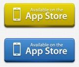 立体网页APP store按钮psd素材下载
