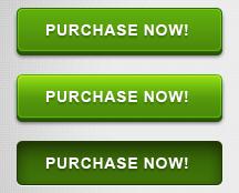 红色和绿色三种状态网页按钮PSD源文件