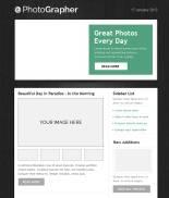摄影师photographer网站PSD模板,摄影网站PSD模板