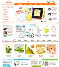 韩国生活用品商城PSD模板