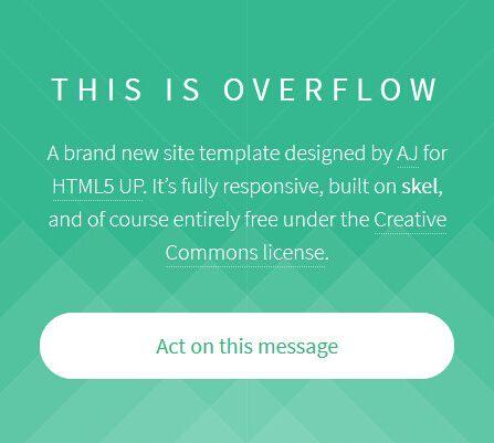 自适应html5网站模板