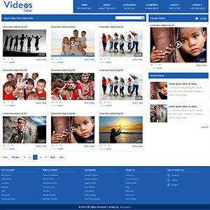 视频门户网站html模板