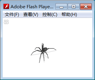 蜘蛛透明flash,spider