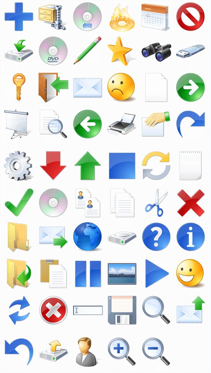 ico格式,质感自带高光阴影,包括商务头像图标,放大镜放小镜,停止刷新图片