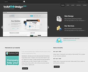 建站公司网站html模板