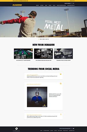 棒球商城网站PSD模板