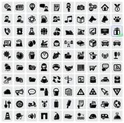 黑色图标设计图片网页图标