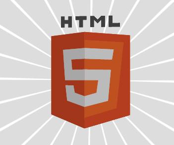 css3的3D效果HTML5 logo