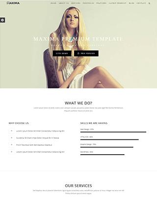 名片设计公司网站HTML模板