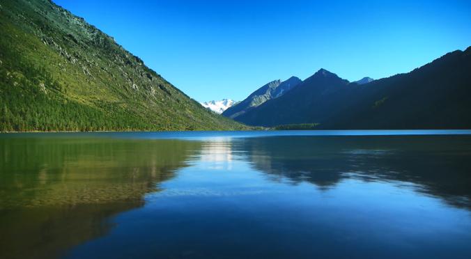 风景湖视频网页背景