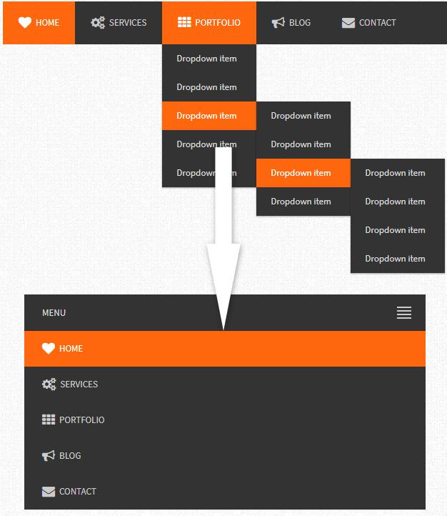 flexy-menu.js基于jQuery的响应