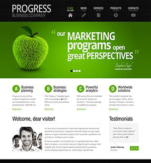 国外绿色园艺公司网站html模板