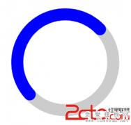 HTML5 Canvas绘制环形进度条