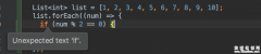 dart中箭头表达式与js中箭头表达式对比