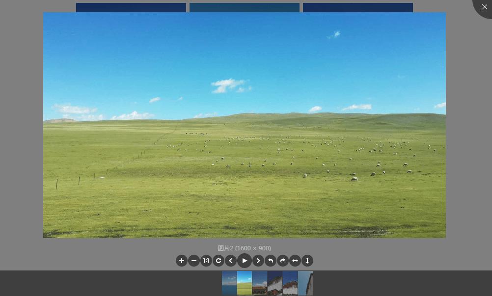 基于vue的v-viewer点击预览图片插件