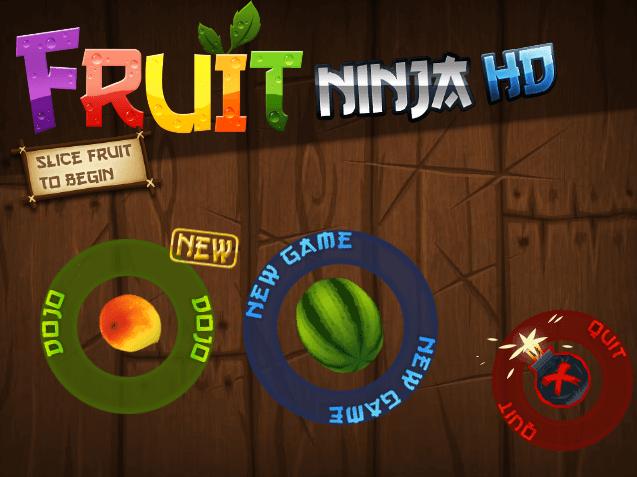 html5 fruit ninja水果忍者游戏