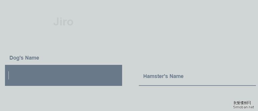 14种炫酷的CSS3文本框焦点效果