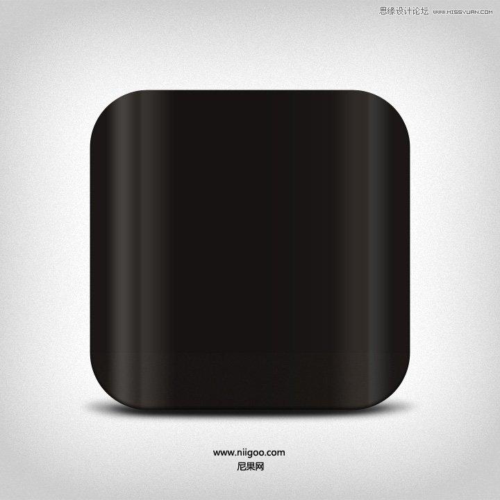 ps绘制质感HTC手机icon图标教程